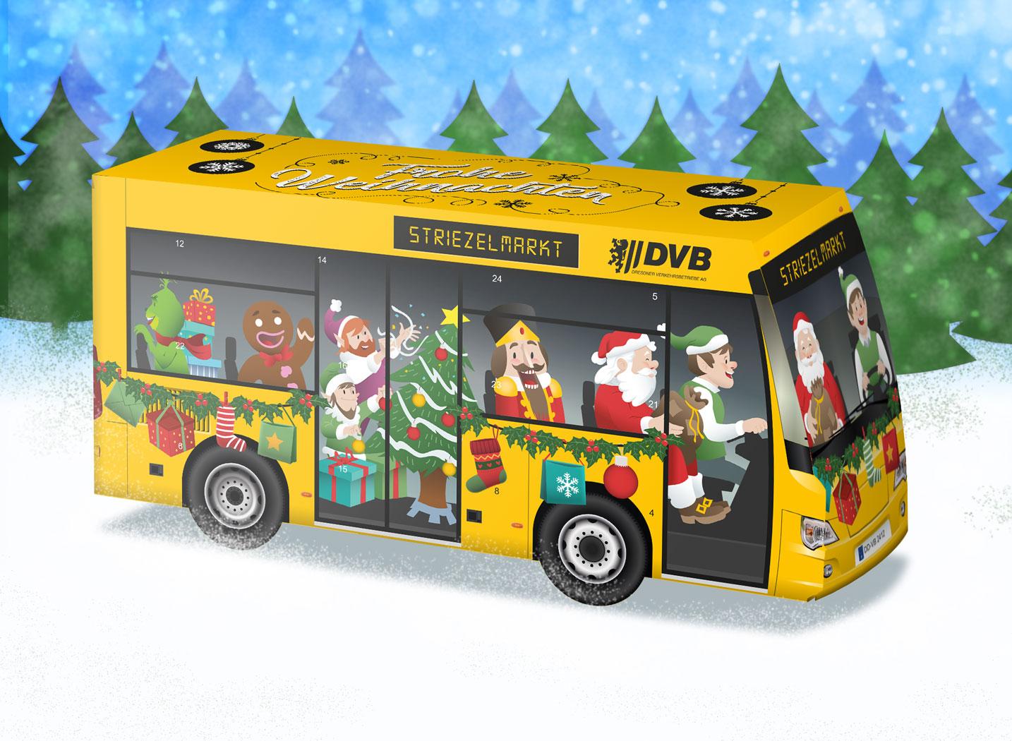 DVB 3D Weihnachtskalender